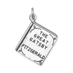 Jewelry - The Great Gatsby Book Charm